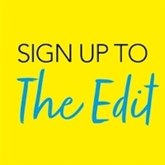 Sign up to The Edit